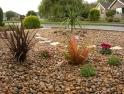Shingle front garden